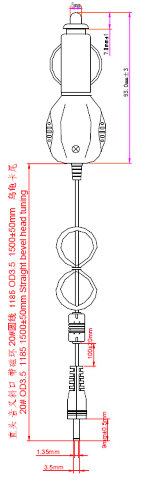 dc 12v-24v输入车载充电器5v 3a点烟器
